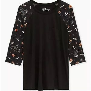 Torrid Size 3 Halloween Mickey Shirt